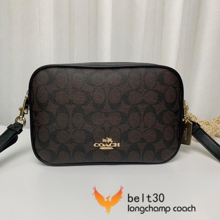 New COACH Camera Bag Coach 68168 Ladies Double Zip Shoulder Crossbody Bag Large Capacity Fashionable Women Bag