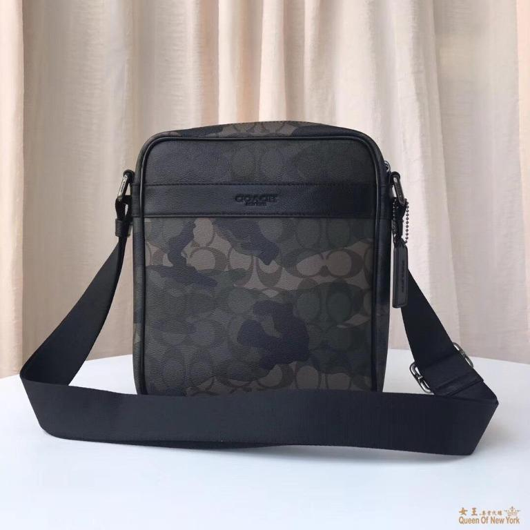 Queen US and Japanese purchasing COACH 59913 New Chic Camouflage Shoulder Bag Crossbody Classic Fashion American Shopping
