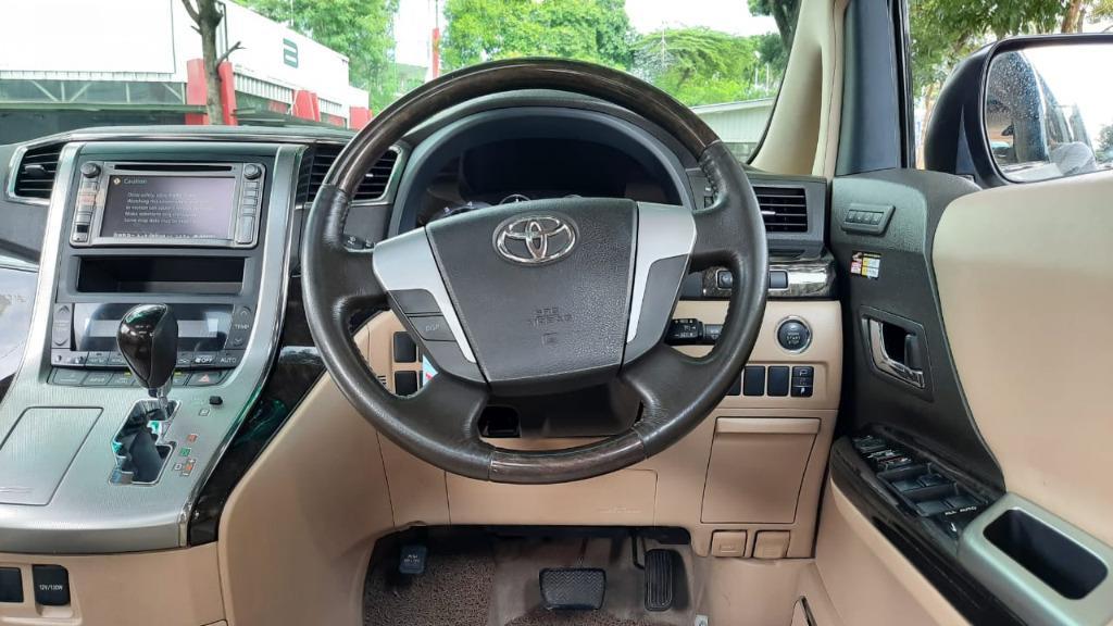 Toyota Alphard G AT 2.4 Putih Km 51 Rb No Pol Ganjil