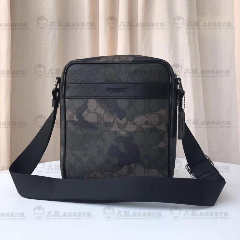 Uncle Europe and the United States purchasing COACH Kou Chi 59913  Chi new camouflage side shoulder bag crossbody bag classic fashion United States purchasing