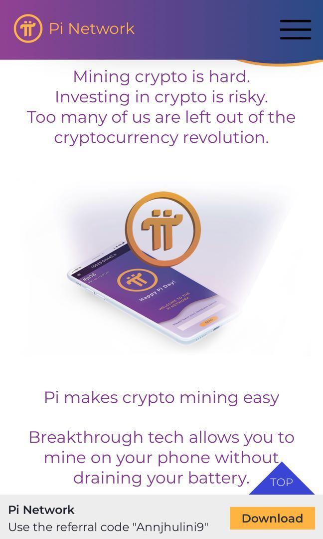 Welcome to Pi world and be a Pioneer! minepi.com/Annjhulini9