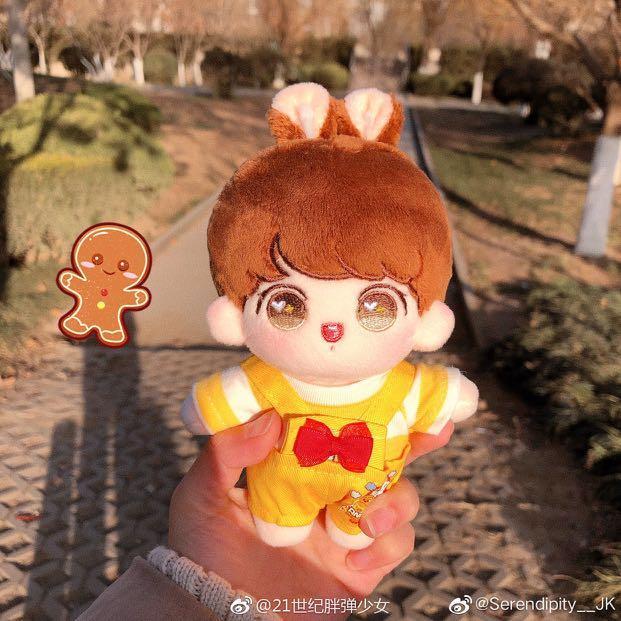WTS bts jungkook (angel kook doll) and bts v luko doll
