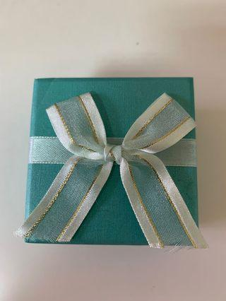 Tiffany藍精緻戒指💍盒
