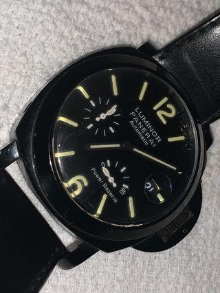Luminor panerai automatic black watch used