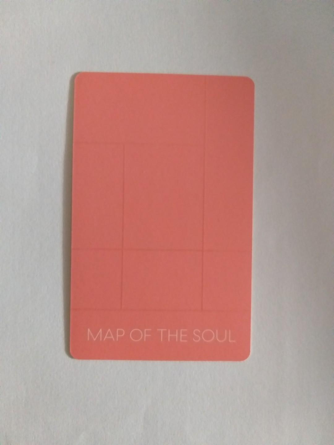 BTS Map Of The Soul Persona Version 2 Suga Photocard