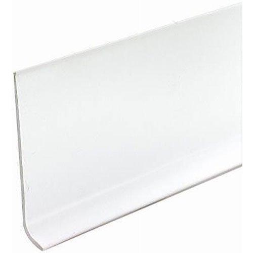 """New $90 Vinyl Wall Base Bulk Roll, 4"""" By 120ft White"""