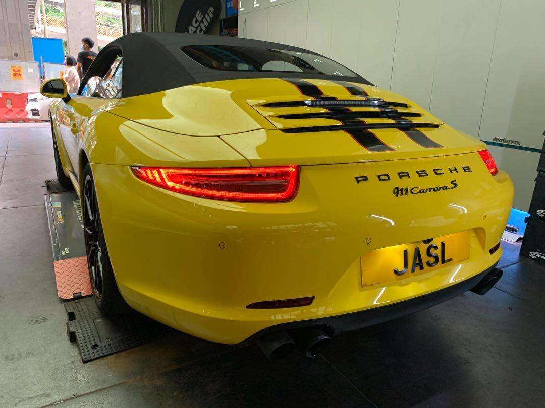 Porsche 911 3.8 Carrera S Cabriolet (A)