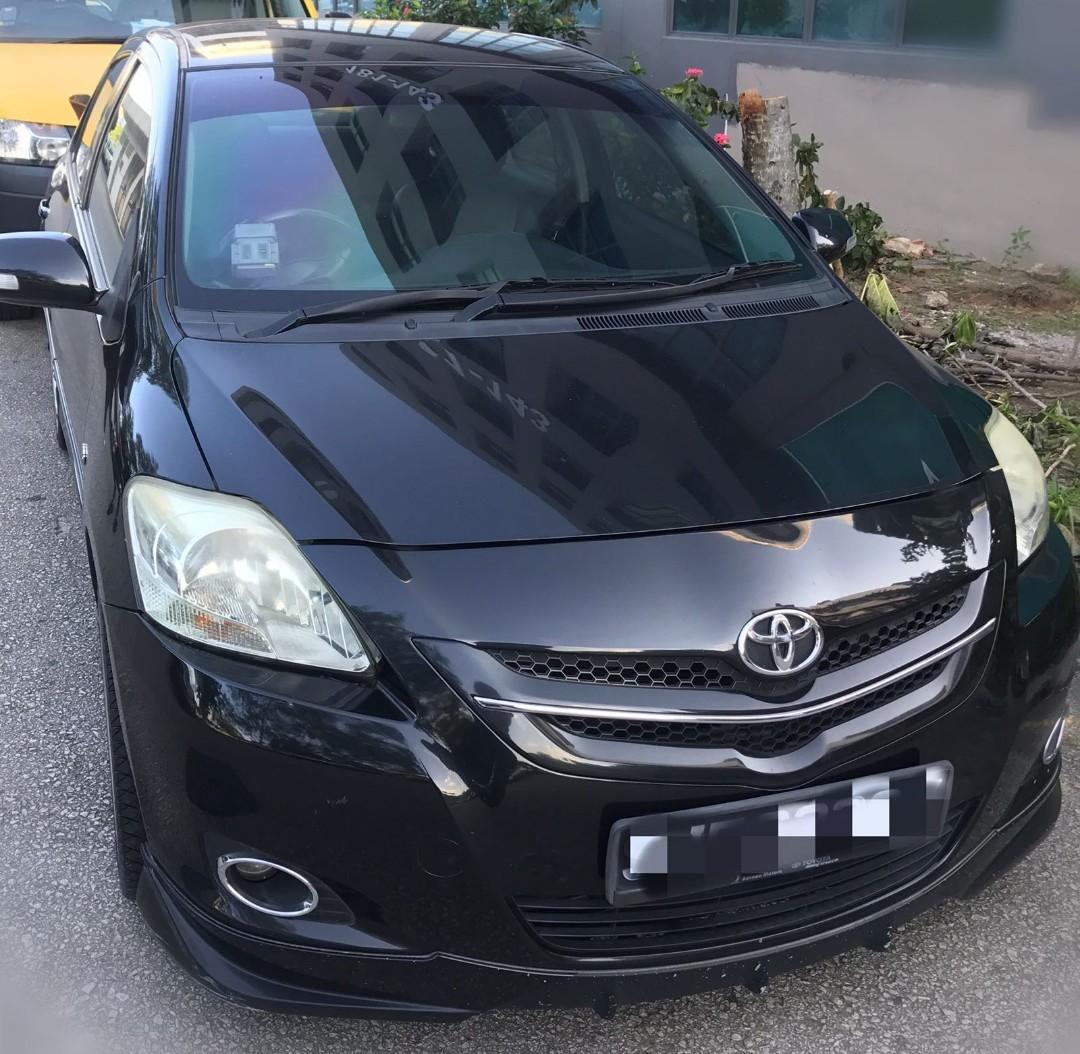 Toyota Vios 1.5A E car rental wa 81448811 / 81448822