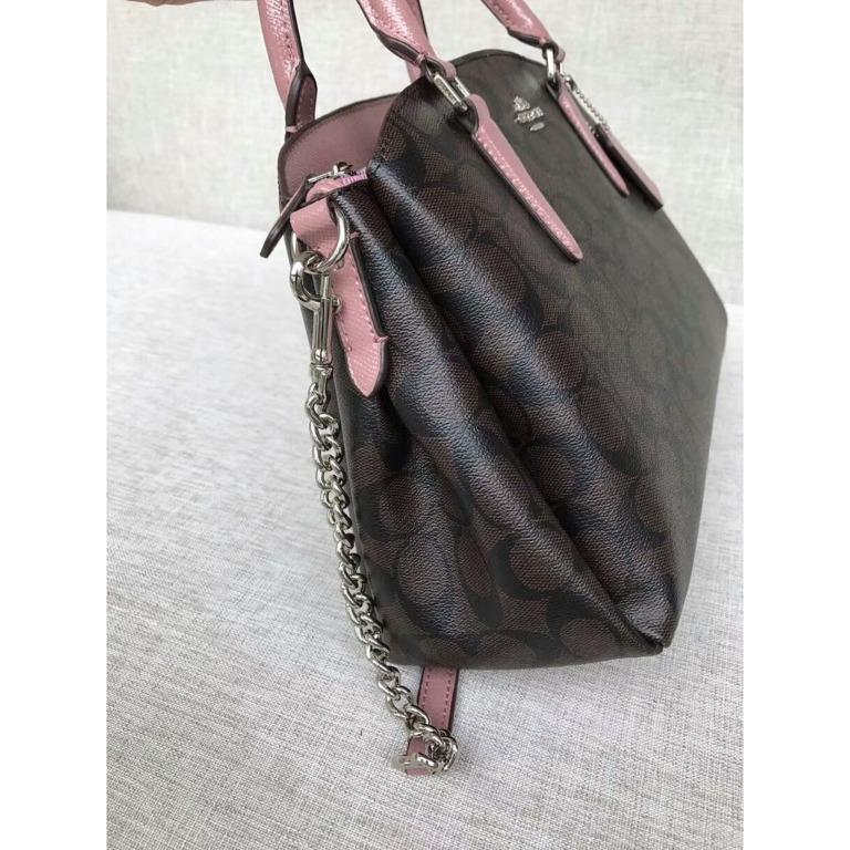 [Xiang Ting Yuan] COACH Women's Bag 31986/31985 New Lady's Feather Bag Shoulder Bag Crossbody Bag Portable Kill Bracelet Bag Size With Purchase Certificate