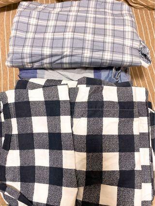 2套全新 100%棉 Santa Barbara Polo 床單枕頭套被套 set裝