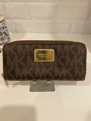 Michael Kors signature wallet