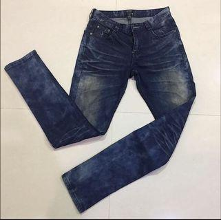 FIFTY PERCENT 男士牛仔長褲 品牌服飾