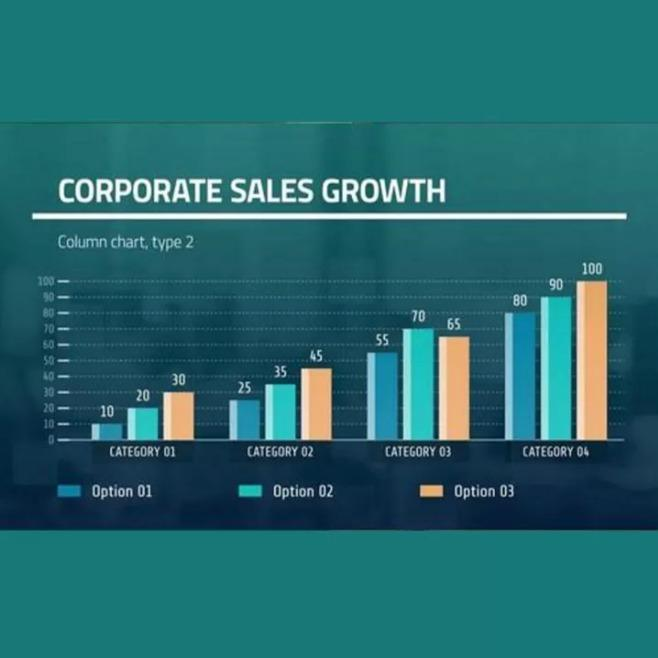 4-in-1 Corporate Presentation, Slides Maker, Charts Maker and Title Pack - After Effects Templates