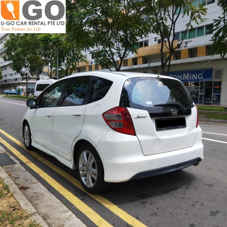 CAR FOR RENT-HONDA JAZZ 1.5A-FOR RENT/ GRAB / GOJEK/ PERSONAL USEAGE