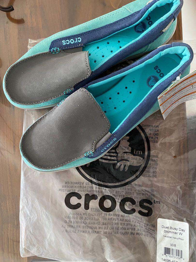 Crocs rubber loafers - women, Women's