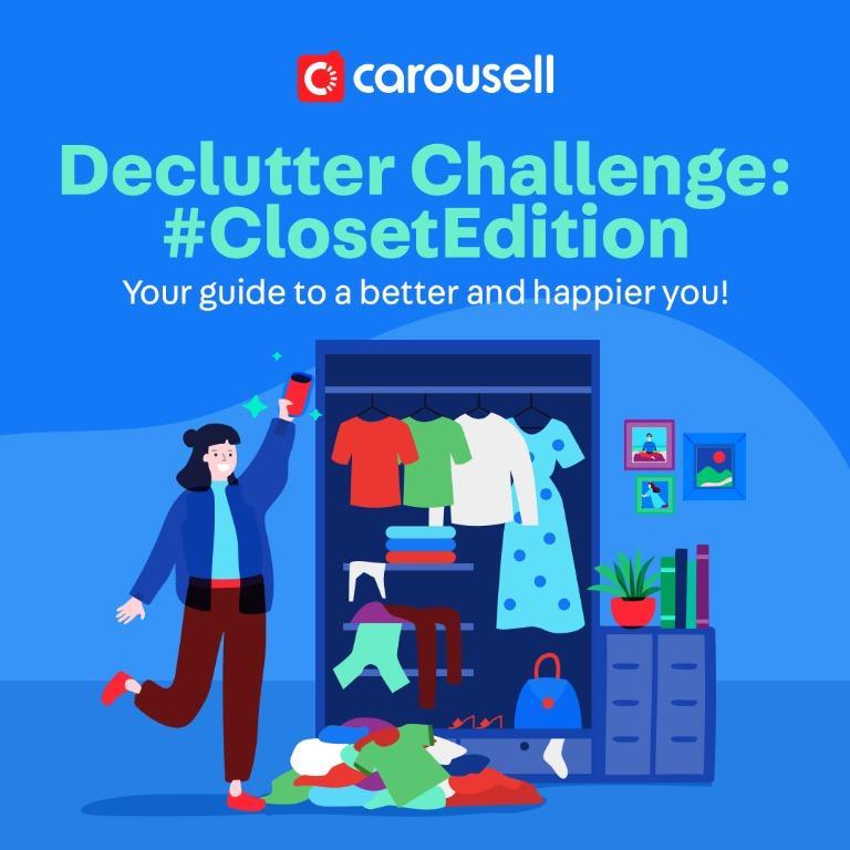 DECLUTTER CHALLENGE: Closet Edition