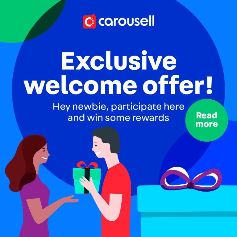[GIVEAWAY ENDED] Exclusive Welcome Offer for New Carousellers
