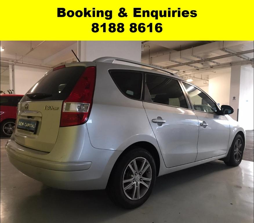 Hyundai i30CW SOCIAL DISTANCING??  Rent a car now to travel with a peace of mind! Cheapest rental in town with just $500 Deposit driveoff immediately.  Superb condition, Fuel efficient & Spacious! Whatsapp 8188 8616 now to enjoy special rates!!