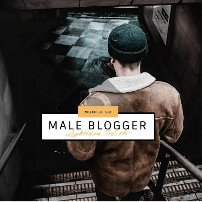 Male Blogger Mobile Lightroom Presets for Andriod & iOs (Good for Blogger, Adventure, Portrait and many more...)