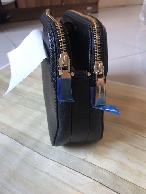 Michael Kors Sling Bag crossbody authentic / tas slempang hitam mk original branded
