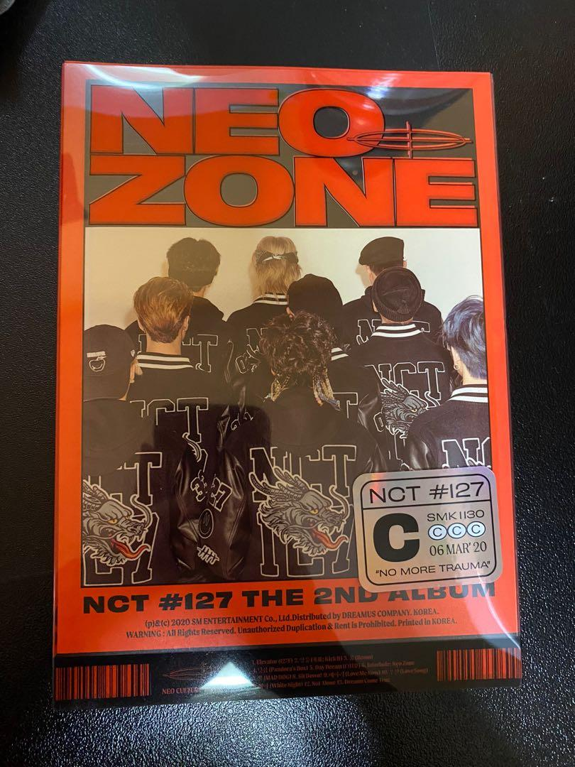 NCT127 NEO ZONE - VERSION C (UNSEALED + NO PHOTOCARD)
