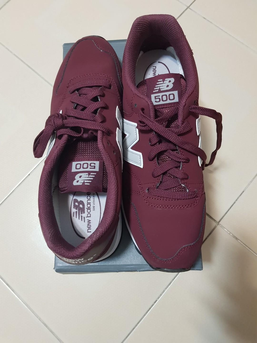 Disparo completar Distracción  New Balance Men Burgundy Classics (GM500RDG), Men's Fashion, Footwear,  Sneakers on Carousell