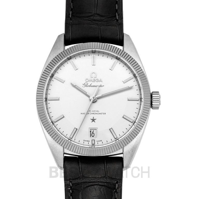 [NEW] Omega Constellation Globemaster Co-Axial Master Chronometer 39mm Automatic Silver Dial Steel Men's Watch 130.33.39.21.02.001