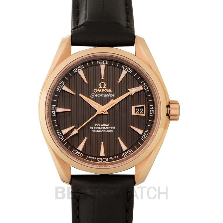 [NEW] Omega Seamaster Aqua Terra 150M Co-Axial 41.5mm Automatic Grey Dial Red gold Men's Watch 231.53.42.21.06.001