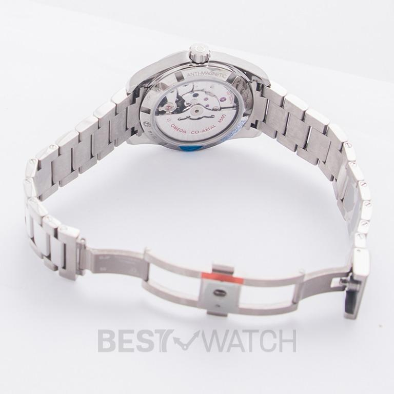 [NEW] Omega Seamaster Aqua Terra 150M Master Co-Axial 38.5mm White Dial Titanium Men's Watch 231.90.39.21.04.001