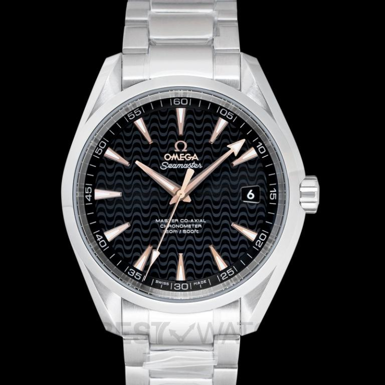 [NEW] Omega Seamaster Aqua Terra 150M Master Co-Axial 41.5 mm Automatic Black Dial Steel Men's Watch 231.10.42.21.01.006