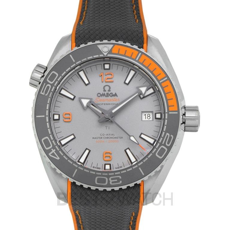 [NEW] Omega Seamaster Planet Ocean 600M Co-Axial Master Chronometer 43.5mm Automatic Grey Dial Titanium Men's Watch 215.92.44.21.99.001