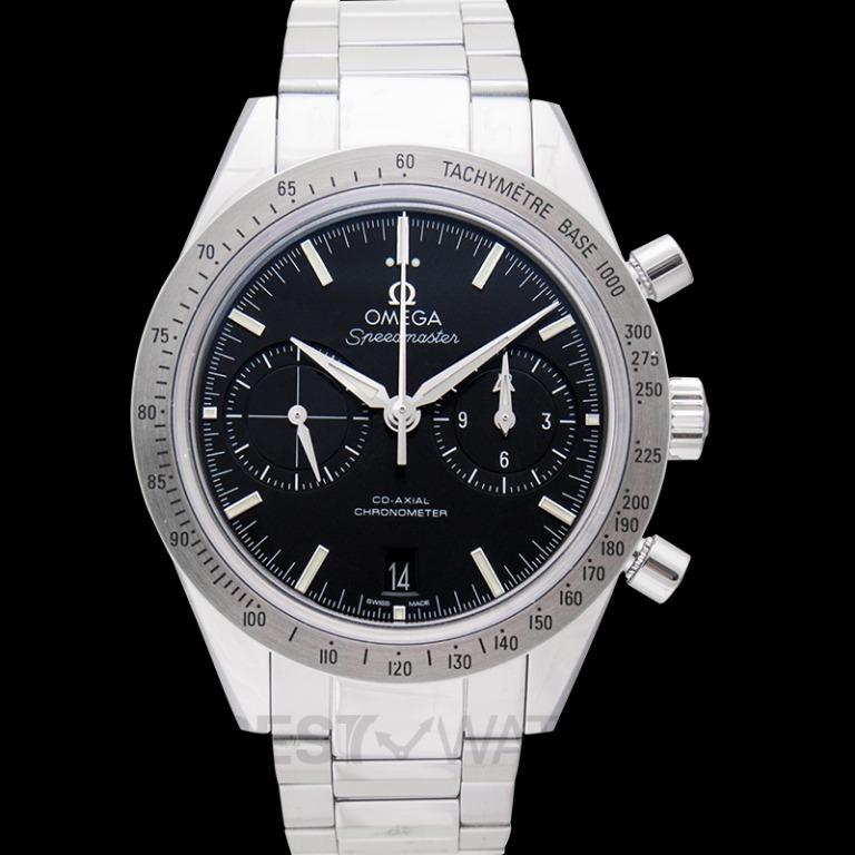 [NEW] Omega Speedmaster '57 Co-Axial Chronograph 41.5 mm Automatic Black Dial Steel Men's Watch 331.10.42.51.01.001