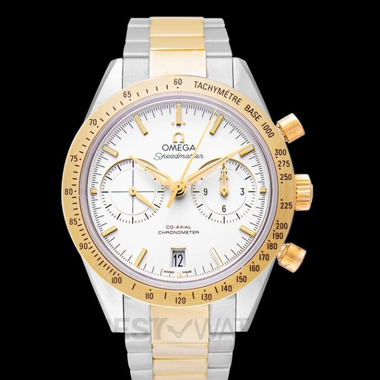 [NEW] Omega Speedmaster '57 Co-Axial Chronograph 41.5mm Automatic Silver Dial Yellow Gold Men's Watch 331.20.42.51.02.001