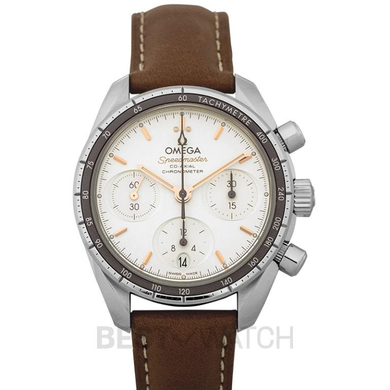 [NEW] Omega Speedmaster Co-Axial Chronograph 38 mm Automatic Silver Dial Steel Ladies Watch 324.32.38.50.02.001