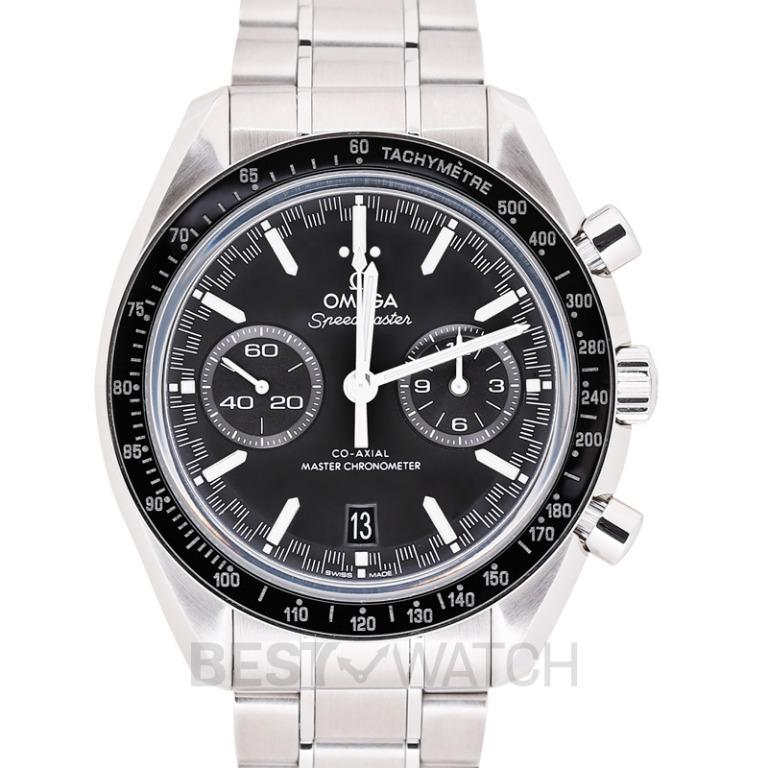 [NEW] Omega Speedmaster Racing Co-Axial Master Chronometer Chronograph 44.25mm Automatic Black Dial Steel Men's Watch 329.30.44.51.01.001