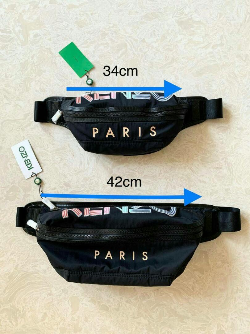 Ready  ! New collections !  Kenzo bumbag logo black multicolor  Size small / regular  - 3.400.000  Size large - 3.400.000