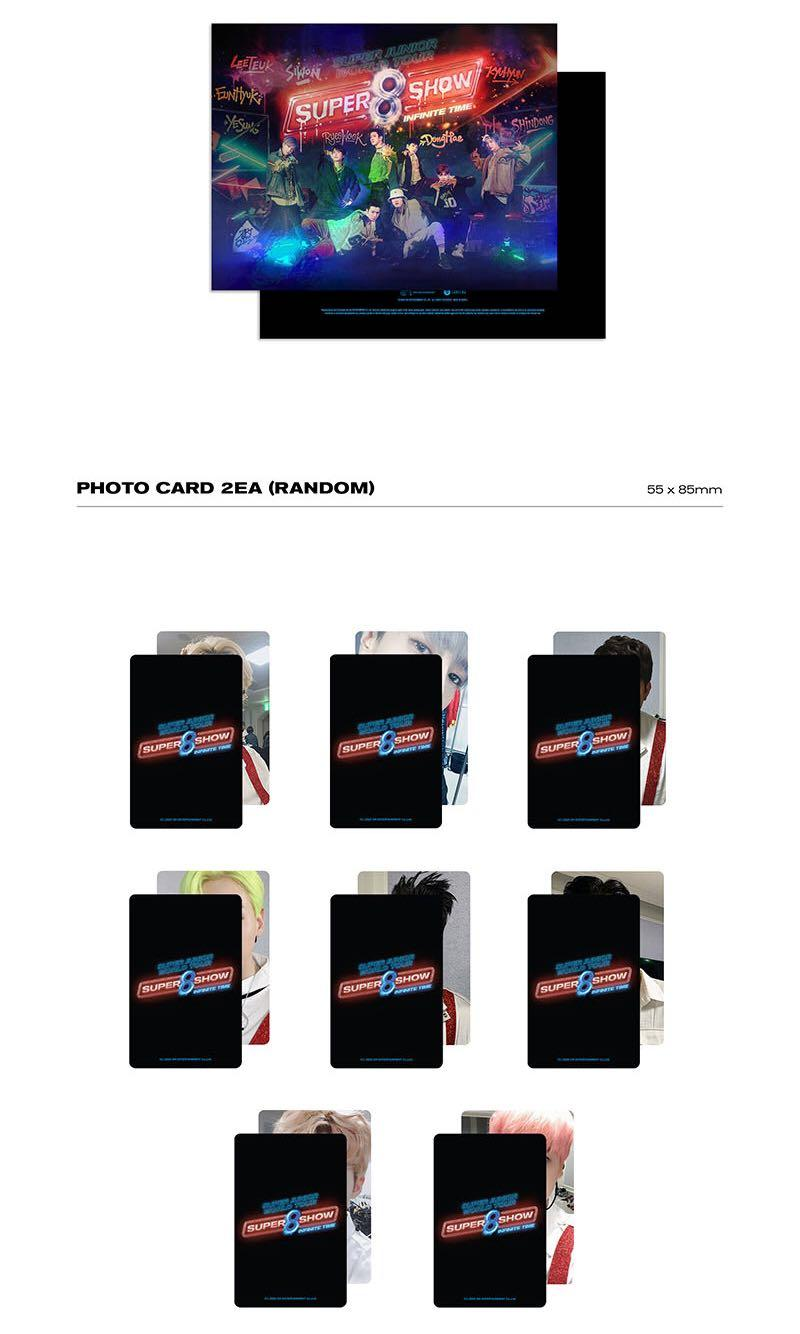 SUPER JUNIOR - Super Show 8: Infinite Time Photobook