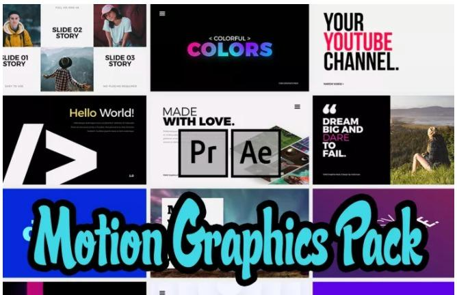 Ultimate Motion Graphics Pack for After Effects & Premiere Pro