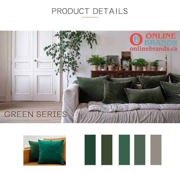 Velvet Cushion Cover available in 26 colors | Free Shipping | Online Brands