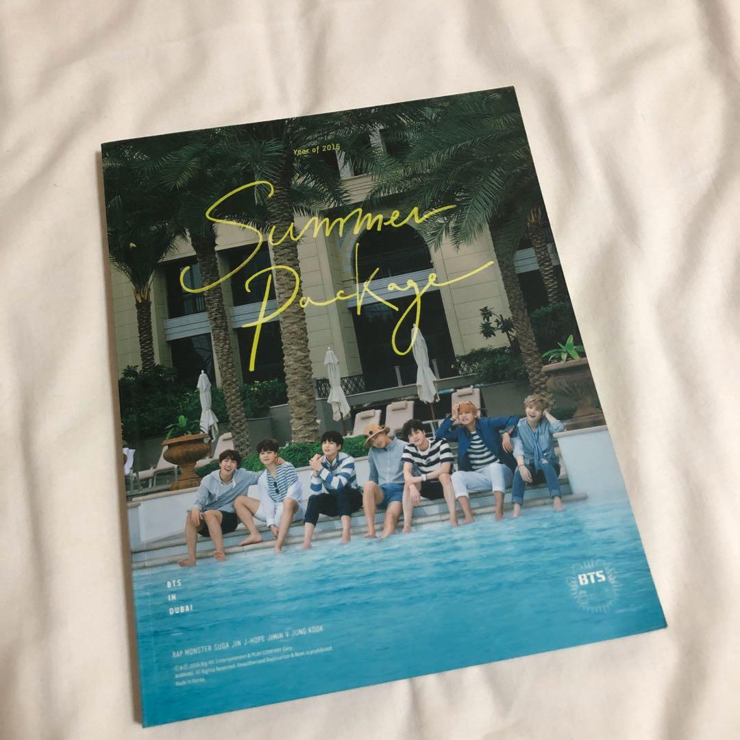 [WTS] BTS 2016 Summer Package in Dubai loose items