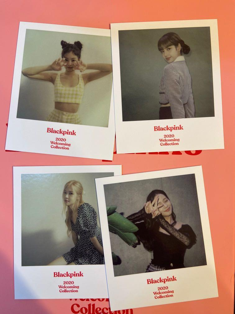 WTT  Polaroid set Blackpink 2020 Welcoming Collection