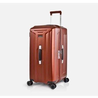 星巴克x萬國通路26吋紅色行李箱