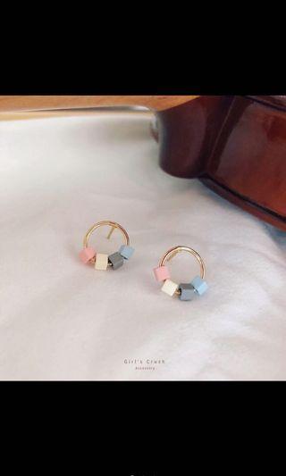 (夾式)未來的祝福耳環