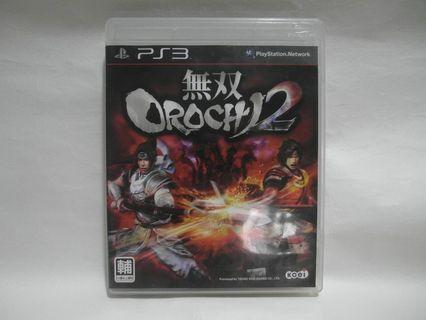 二手 90%新 PS3 GAME 無雙 OROCHI 2  蛇魔 大蛇無雙 2