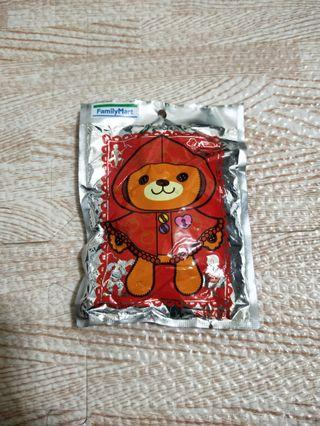 全家童話溫心熊 吊飾娃娃 #FREE