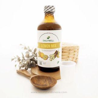 Dailywell Lemon+ (Jus Detox Sari Buah Lemon) 325ml