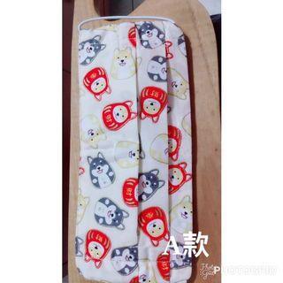 布口罩套(裡布是二重紗製)