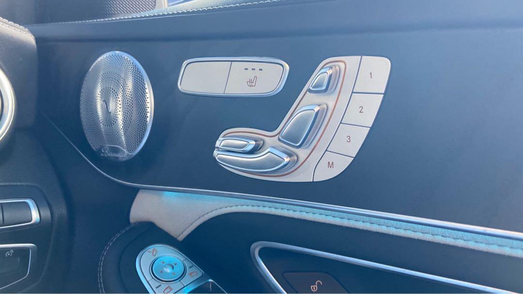 2017 Mercedes-Benz C63S AMG Sedan Burmester Panoramic Roof