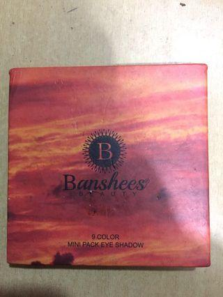 Banshees eyeshadow pallete 9colours #thr2020