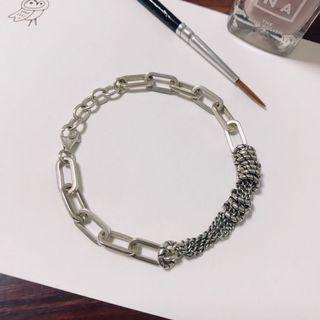純銀造型手鍊